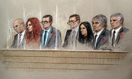 Phone-hacking trial defendants